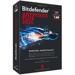 Antivirusinė programa BitDefender Antivirus Plus 2015 1 User (1 metai)
