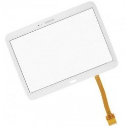 Lietimui jautrus stiklas Samsung Galxy Tab 4 T535 baltas